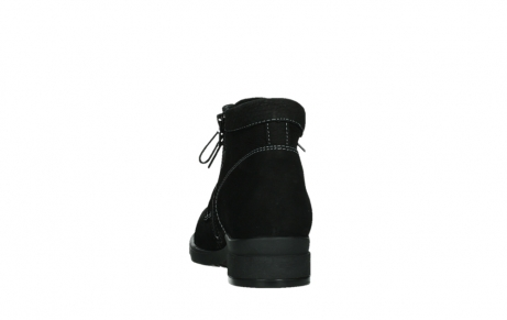 wolky lace up boots 02630 seagram xw 13000 black nubuckleather_18