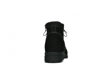wolky lace up boots 02630 seagram xw 13000 black nubuckleather_19
