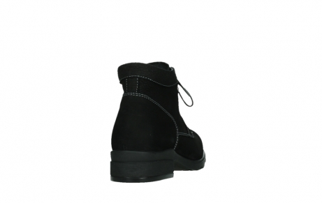 wolky lace up boots 02630 seagram xw 13000 black nubuckleather_20