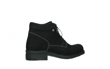 wolky lace up boots 02630 seagram xw 13000 black nubuckleather_23