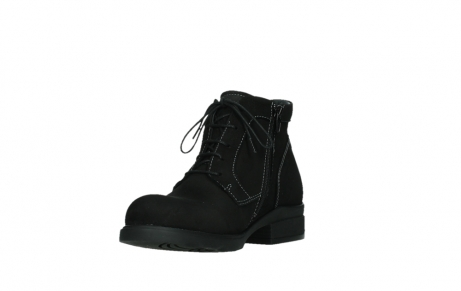 wolky lace up boots 02630 seagram xw 13000 black nubuckleather_9
