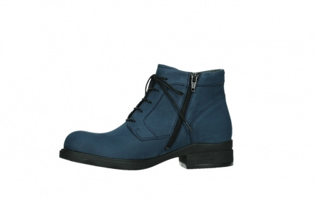 wolky lace up boots 02630 seagram xw 13800 blue nubuckleather_12