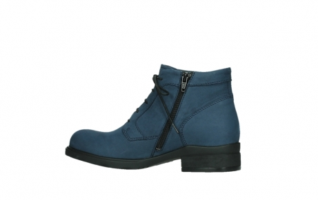 wolky lace up boots 02630 seagram xw 13800 blue nubuckleather_14