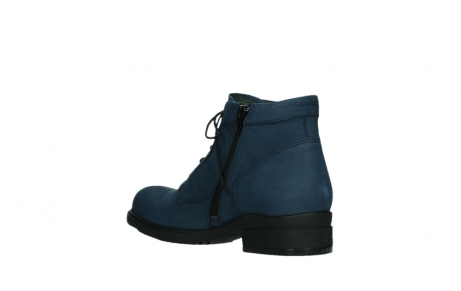 wolky lace up boots 02630 seagram xw 13800 blue nubuckleather_16