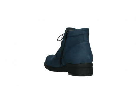 wolky lace up boots 02630 seagram xw 13800 blue nubuckleather_17
