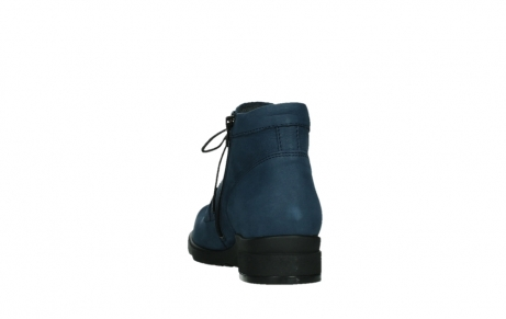 wolky lace up boots 02630 seagram xw 13800 blue nubuckleather_18