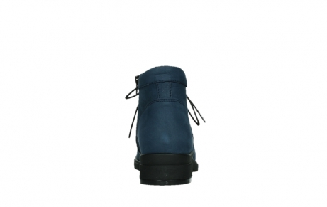 wolky lace up boots 02630 seagram xw 13800 blue nubuckleather_19