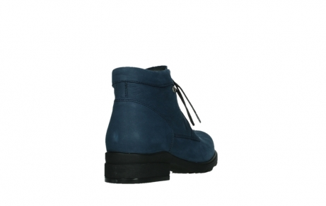 wolky lace up boots 02630 seagram xw 13800 blue nubuckleather_21