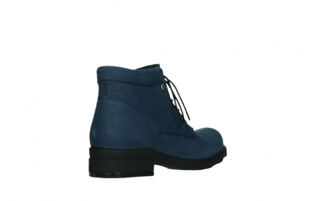 wolky lace up boots 02630 seagram xw 13800 blue nubuckleather_22