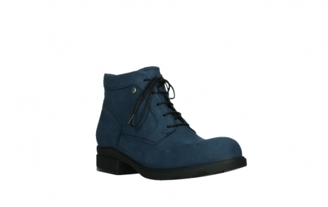 wolky lace up boots 02630 seagram xw 13800 blue nubuckleather_4