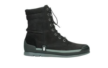 wolky lace up boots 02775 adams 13000 black nubuckleather_1