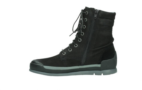 wolky lace up boots 02775 adams 13000 black nubuckleather_13
