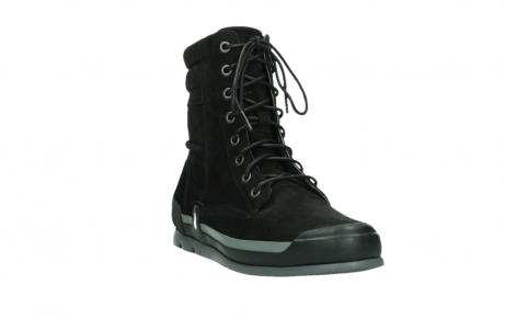 wolky lace up boots 02775 adams 13000 black nubuckleather_5