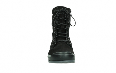 wolky lace up boots 02775 adams 13000 black nubuckleather_7