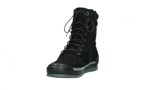 wolky lace up boots 02775 adams 13000 black nubuckleather_9