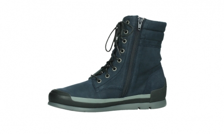 wolky lace up boots 02775 adams 13800 blue nubuckleather_12