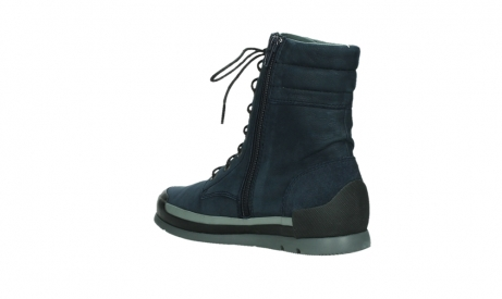 wolky lace up boots 02775 adams 13800 blue nubuckleather_16