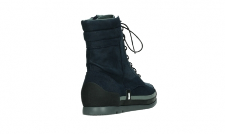 wolky lace up boots 02775 adams 13800 blue nubuckleather_21