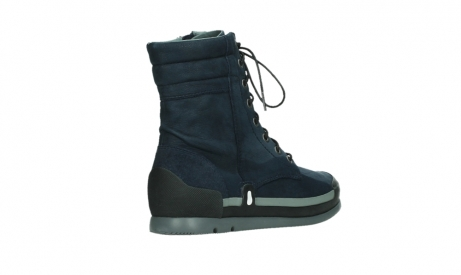 wolky lace up boots 02775 adams 13800 blue nubuckleather_22