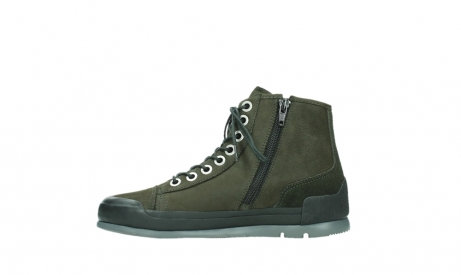wolky lace up boots 02777 watson 13770 13770 gray brown nubuck_13