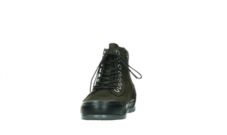 wolky lace up boots 02777 watson 13770 13770 gray brown nubuck_8