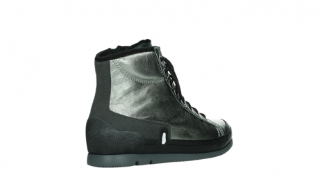 wolky lace up boots 02777 watson 30280 metal leather_22