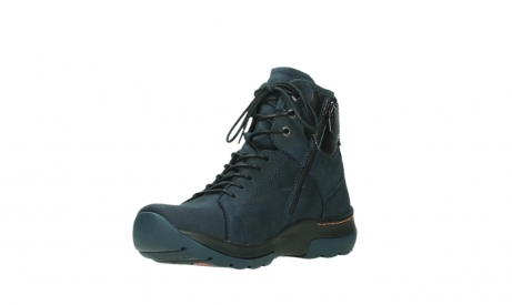 wolky lace up boots 03026 ambient 11801 blue nubuck_10