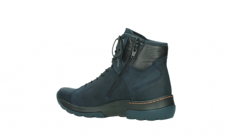wolky lace up boots 03026 ambient 11801 blue nubuck_15