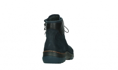 wolky lace up boots 03026 ambient 11801 blue nubuck_20