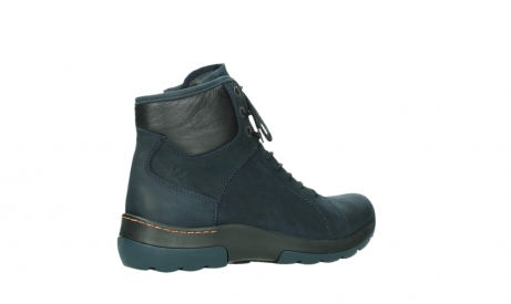 wolky lace up boots 03026 ambient 11801 blue nubuck_23