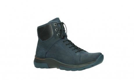 wolky lace up boots 03026 ambient 11801 blue nubuck_3