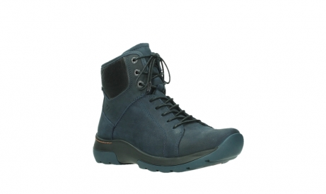 wolky lace up boots 03026 ambient 11801 blue nubuck_4