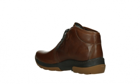 wolky lace up boots 03027 dub cw 24430 cognac leather_16