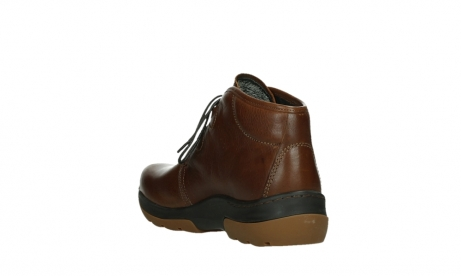 wolky lace up boots 03027 dub cw 24430 cognac leather_17