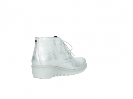 wolky lace up boots 03810 dusky 30130 silver leather_10
