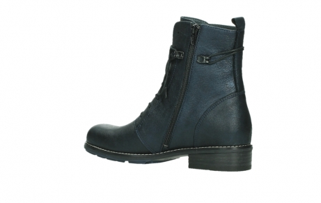 wolky ankle boots 04444 murray xw 25800 metallic blue leather_15