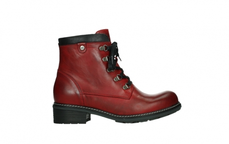 wolky ankle boots 04475 ronda 30505 dark red leather_1