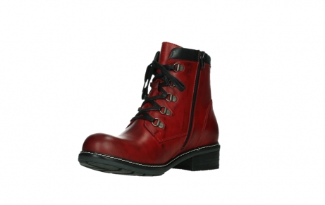wolky ankle boots 04475 ronda 30505 dark red leather_10