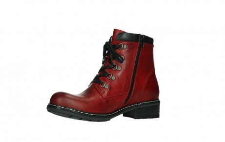 wolky ankle boots 04475 ronda 30505 dark red leather_11