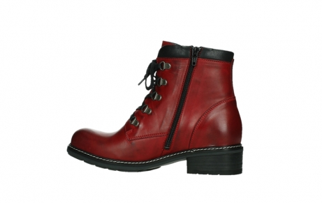 wolky ankle boots 04475 ronda 30505 dark red leather_14