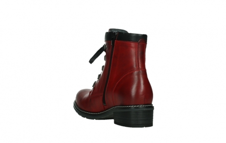 wolky ankle boots 04475 ronda 30505 dark red leather_17