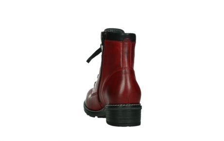 wolky ankle boots 04475 ronda 30505 dark red leather_18