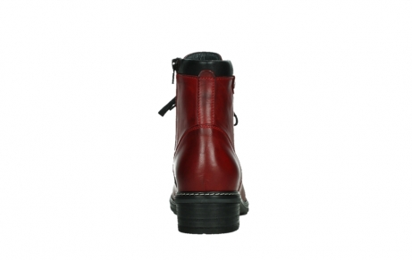 wolky ankle boots 04475 ronda 30505 dark red leather_19