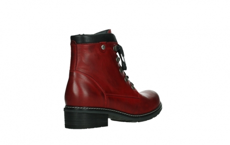 wolky ankle boots 04475 ronda 30505 dark red leather_22