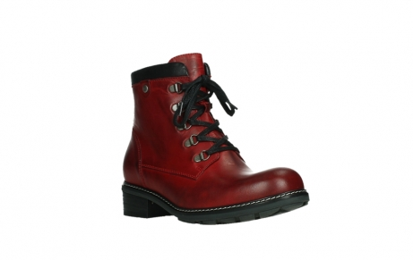 wolky ankle boots 04475 ronda 30505 dark red leather_4