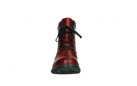 wolky ankle boots 04475 ronda 30505 dark red leather_7