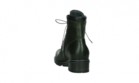 wolky lace up boots 04475 ronda 30730 forest green leather_18