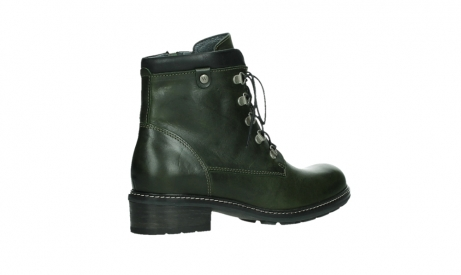 wolky lace up boots 04475 ronda 30730 forest green leather_23