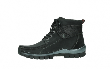 wolky lace up boots 04725 jump winter 14000 black palmmetal suede_12