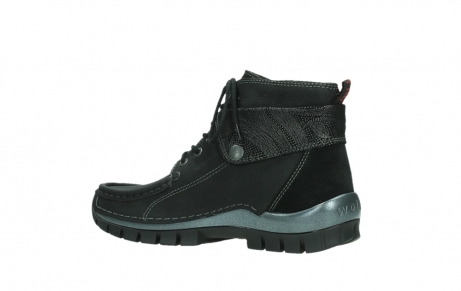 wolky lace up boots 04725 jump winter 14000 black palmmetal suede_15
